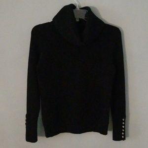 Sweaters - Black heavy turtleneck sweater